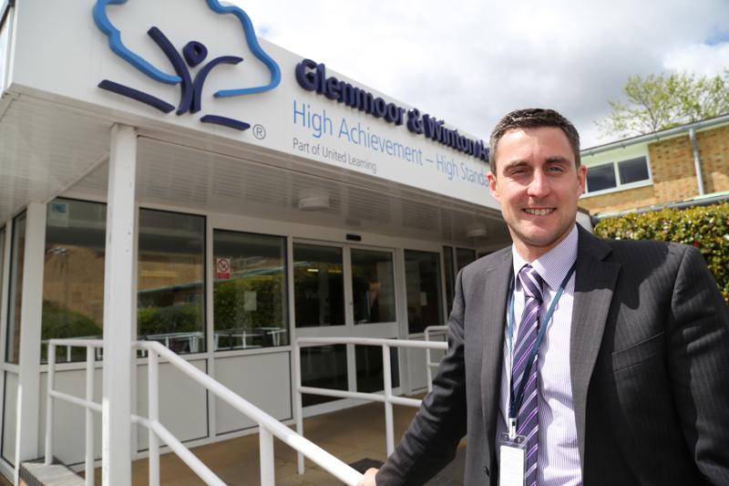 Principal Ben Antell at Glenmoor & Winton Academies.