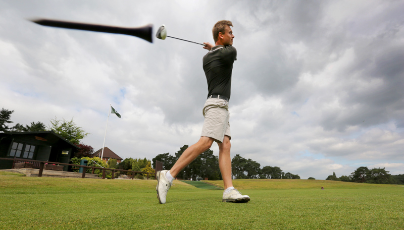 Ferndown golfer Dominic Knight aiming for the Open Championship